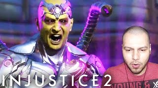 Injustice 2: Brainiac Gameplay REACTION! - Injustice 2