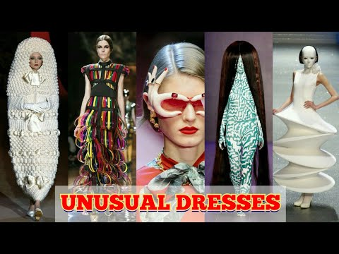 Top 10 Clothing brands in the world | Unusual dresses