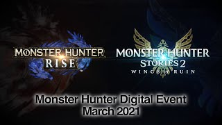 Monster Hunter Digital Event - March 2021