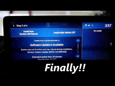 2019 Acura RDX  - My Software Updating Experience