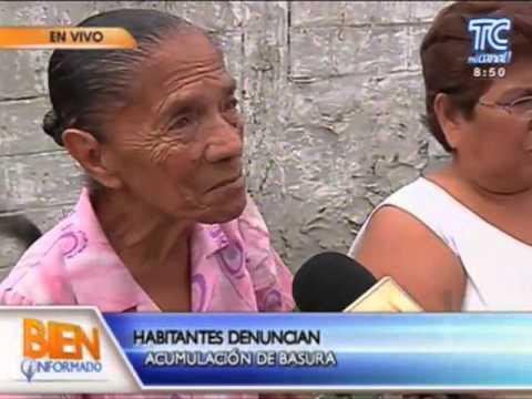 GAD Guayaquil - Moradores del sector Coop. Santiago Roldós piden atención 2