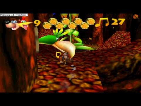 Banjo-Kazooie Walkthrough: Click Clock Wood Part VII (Music Note Challange)