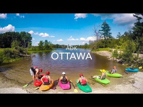 Kids Ottawa Kayaking Trip 2017 (Summer Camp Trip)
