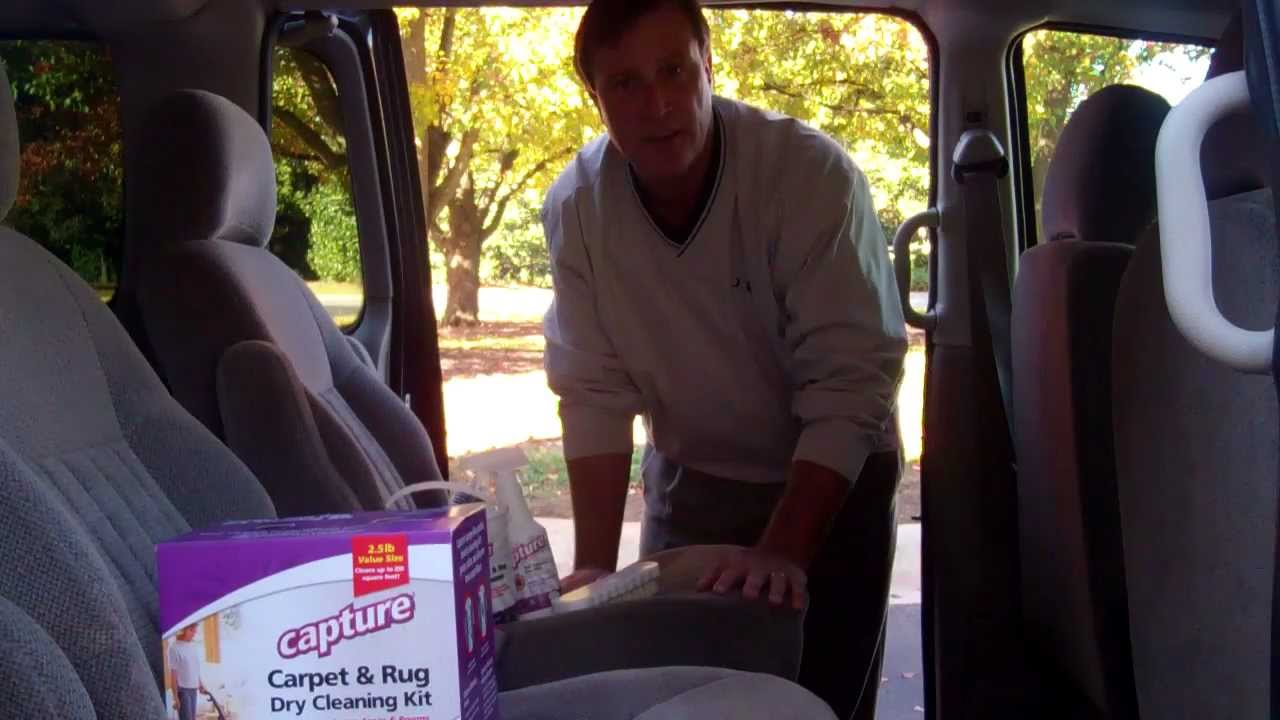 Capture Carpet Cleaner   Clean Vehicle Interiors With Capture.mp4