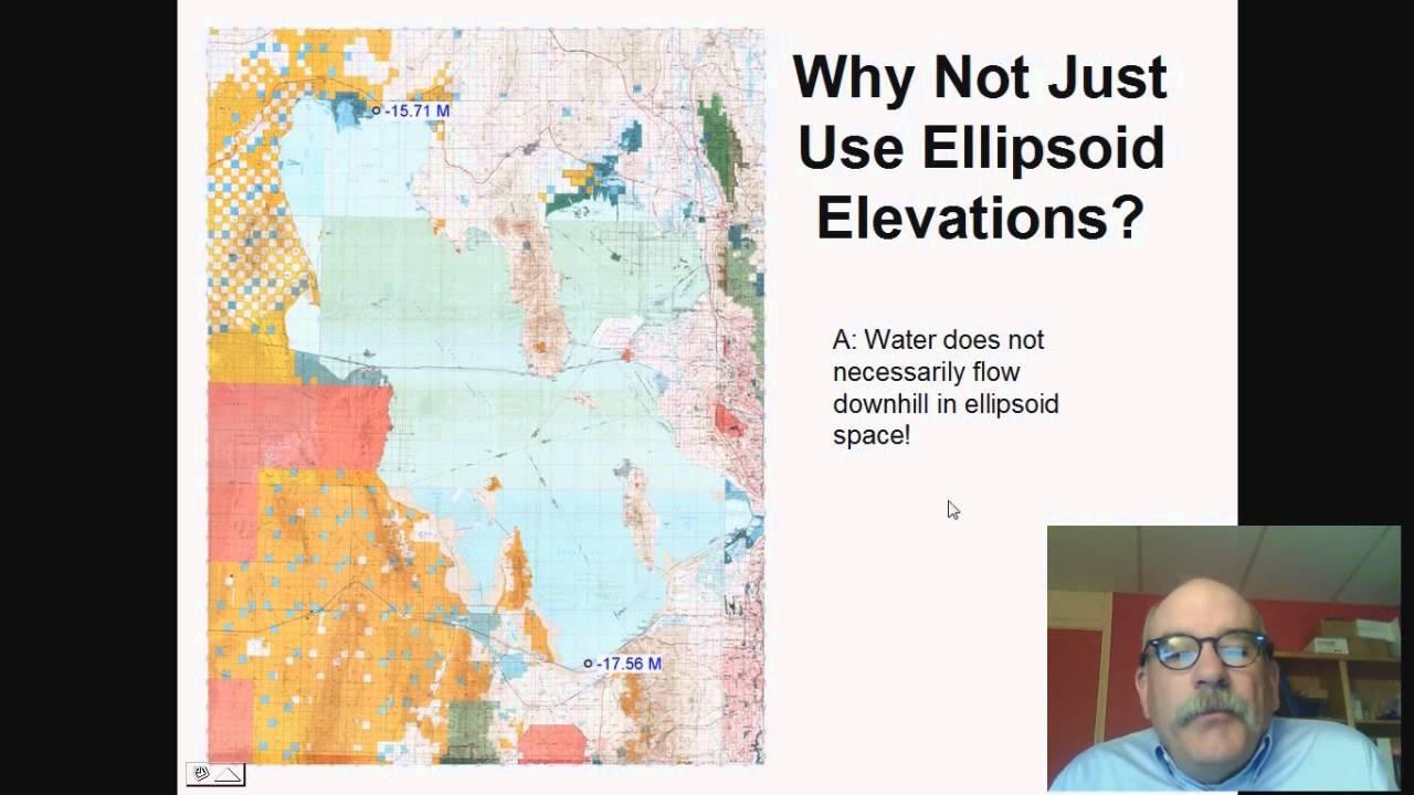 Ellipsoid vs  Orthometric Elevations