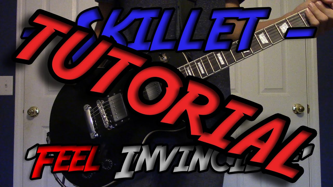 tutorial 39 feel invincible 39 skillet w solo tabs youtube. Black Bedroom Furniture Sets. Home Design Ideas