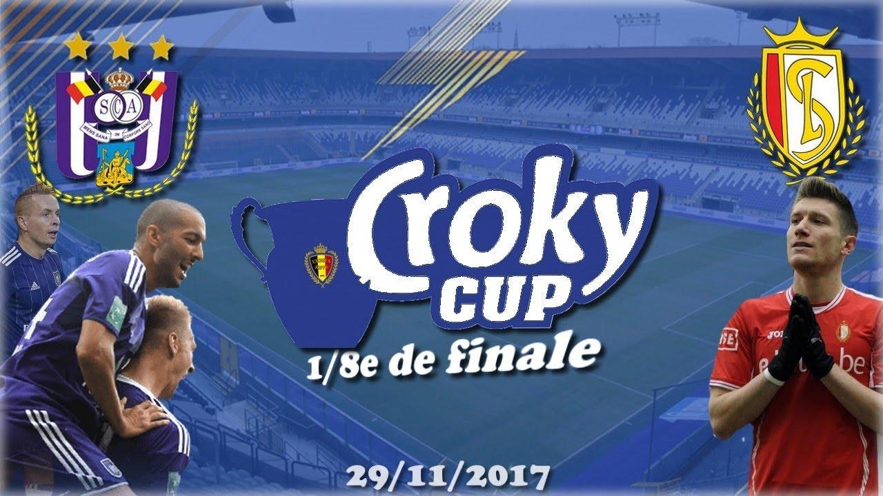 Croky Cup 29/11/2017 : RSC Anderlecht - Standard de Liège [1/8e de finale] - YouTube