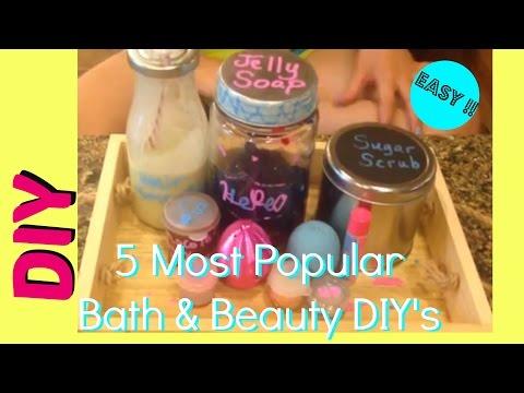 5 DIY Beauty Gift Ideas | EOS Crayon Lip Balm, Jelly Soap, +3 More EASY DIY's