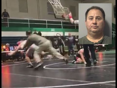 Dickerman - Father Arrested For Storming Wrestling Mat