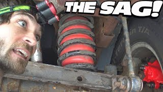 Lifting EXO's Truck w/ CHEAP AIR BAGS & Stock Suspension | Easy Install & More Payload Capacity