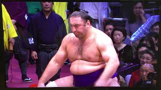 November 2018 - Day NINE - Takakeisho v Tochinoshin