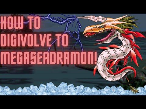 Digimon World 1 - How to digivolve to MegaSeadramon