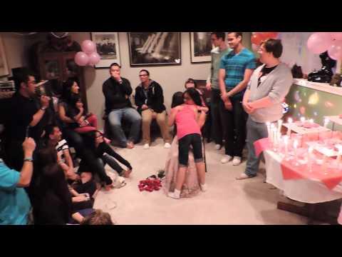 Jaimee's 18 Candles Ceremony