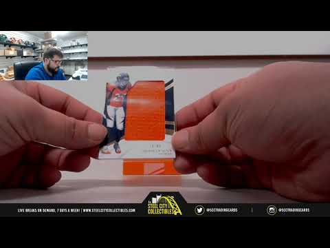 2018 PANINI IMMACULATE FOOTBALL HOBBY BOX RANDOM SERIAL # GROUP BREAK #18