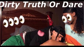 MY FIRST TRUTH OR DARE GETS A LITTLE TOO DIRTY💦👀 | Hezo Melo