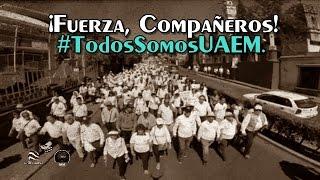 Marcha de la Dignidad en Morelos. #TodosSomosUAEM.