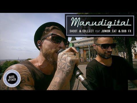 MANUDIGITAL Ft. Junior Cat & Dub FX - Shoot & Collect (Official Video)