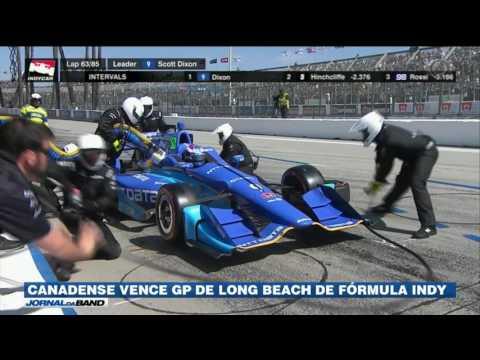 Canadense vende GP de Long Beach de Fórmula Indy