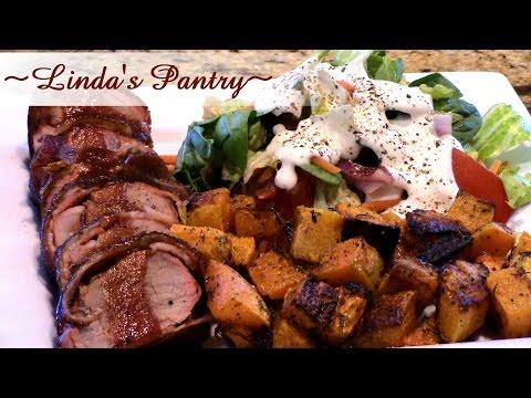 ~ Smoked Bacon Wrapped Pork Tenderloin With Linda's Pantry~