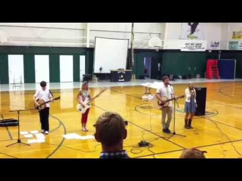 Last worship with Isaac Davis at East Hill Christian School