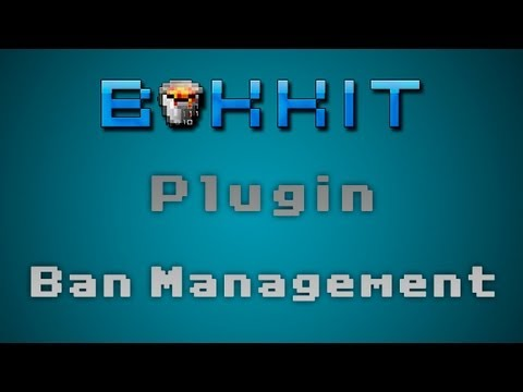 Minecraft - Plugin Ban Management [ Tutorial en Español ] Ba