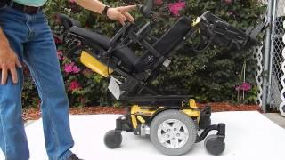 Quantum Q6 Edge Power Chair With Tilt, Recline, Electric Legs