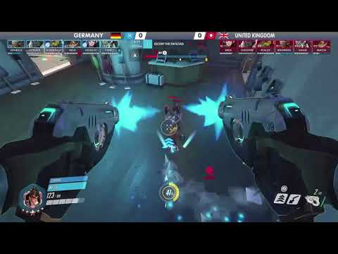 United Kingdom vs Germany | Los Angeles Group Stage | Overwatch World Cup