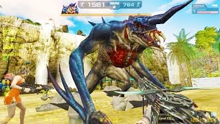 Counter-Strike Nexon: Zombies - Dione Zombie boss Fight (Hard1) online gameplay on Toxicity map