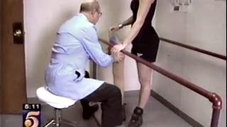 Repeat youtube video TV news report on my work as a prosthetist.