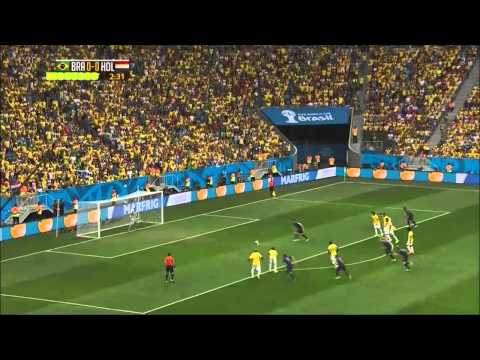 Brazil vs Netherlands 0-3 (12/06/14) HIGHLIGHTS 3RD Place