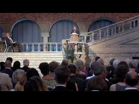 The 2016 Stockholm Prize in Criminology Award Ceremony (Stockholm City Hall)
