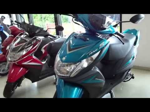 #ScooterFest: Yamaha Ray Z Blue Core 2016 Walkaround Review (All Colours)