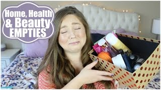 Spring Empties! Home, Health & Beauty | 2017