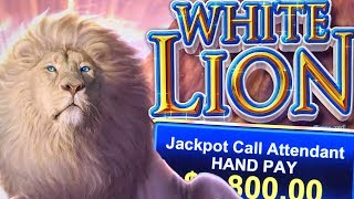 WHITE LION ★ HIGH LIMIT $100 SPINS ➜ JACKPOT HANDPAY ON THIS SLOT MACHINE