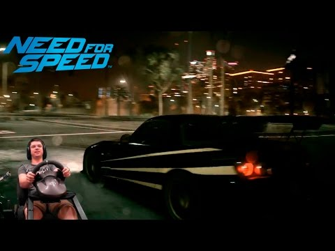 Снова упоротая гонка Комплектующие Need For Speed 2016 на руле Fanatec Porsche 911 GT2