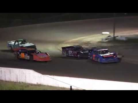 Pro stock Feature Race at Mt. Pleasant Speedway, Michigan on 06-07-2019!