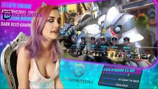 Twitch Girl HOT FAILS   OCTOBER 2017   BANNED STREAMERS   Girl Livestream Fails Compilation 2017