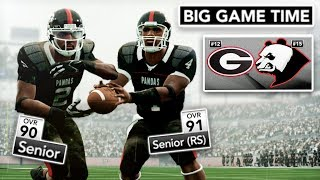 Best Duo in CFB's Epic Senior Day | NCAA 14 Team Builder Dynasty Ep. 46 (S4)