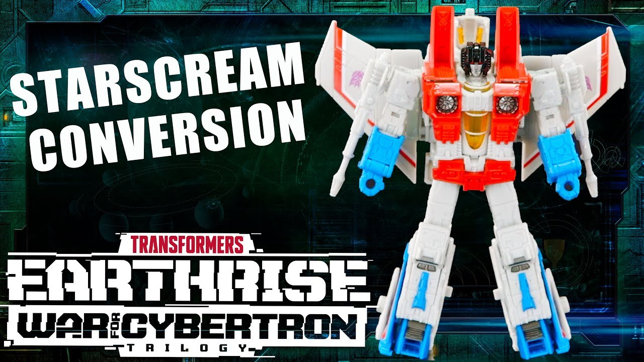 How to Convert Starscream War for Cybertron: Earthrise Official Video