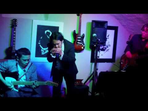 Rock bottom blues band St