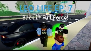 SCRP - Episode 7 - Back in Full Force! (LEO) | Roblox