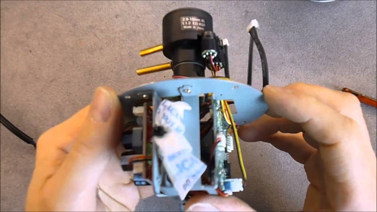 everfocus ebd430 cctv camera teardown and wire repair