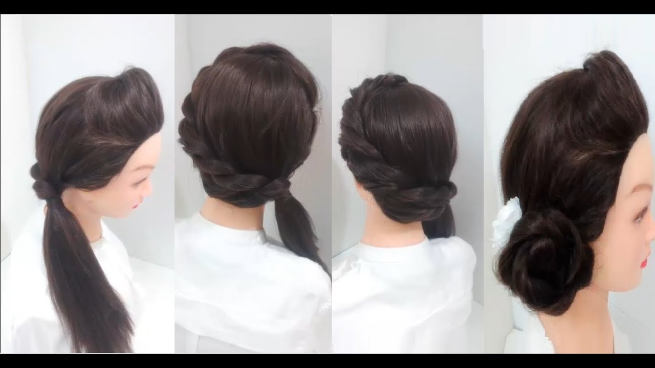 3 Easy Hairstyles For Girls With Long Hair   YouTube