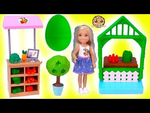 Barbie Kid Chelsea Farmer Doh Play Set + Surprise EGG In Garden