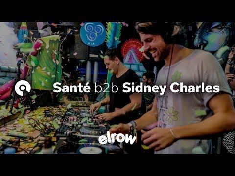 Santé b2b Sidney Charles @ Elrow Ibiza Closing Party 2016 (BE-AT.TV)