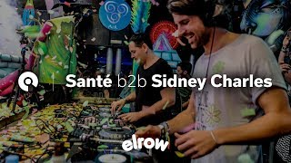 Santé b2b Sidney Charles @ Elrow Ibiza Closing Party 2016 (BE-AT.TV)