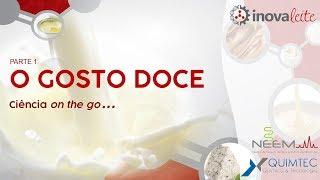O gosto doce parte 1 - Ciência on the go...