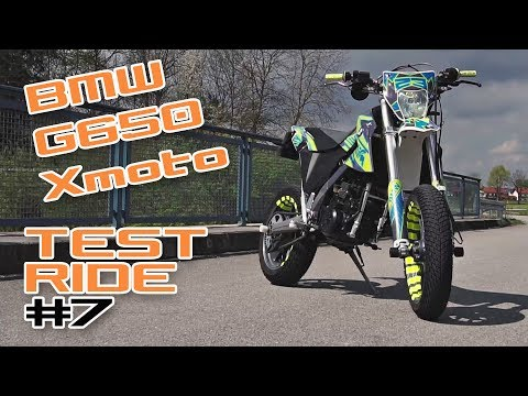 Alternative zur KTM 690 SMCR?! BMW G650 XMOTO TESTRIDE#7