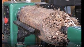 279 Wood-turning the incredible vanishing vase
