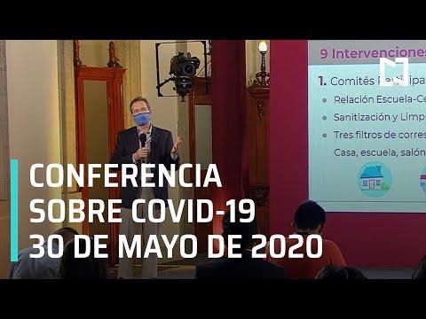 Conferencia Covid-19 en México - 30 de Mayo 2020